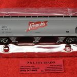 47085 Intermountain HO scale French's ACF 4650 3 bay hopper car