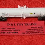50004617 Atlas N scale Dow Chemical 20,700 gallon tank car