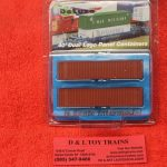 5011 Intermountain N scale Dimi Data 40' rib side container set