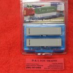 5121 Intermountain N scale Sea Land 40' rib side container set