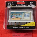 5794 Woodland Scenics HO scale Monroe's Drive In billboard