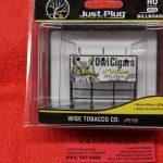 5795 Woodland Scenics HO scale Wise Tobacco Co. billboard