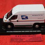 86154 Greenlight 1:43rd scale Dodge USPS 2500 cargo van