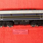 30136016 Atlas O scale 3 rail Baltimore & Ohio F3 B Unit