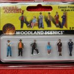 1874 Woodland Scenics HO scale casual people figures