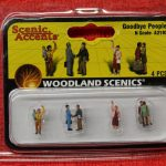 2193 Woodland Scenics N scale goodbye people figures