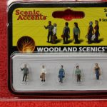 2188 Woodland Scenics N scale 2nd shift workers figures