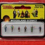 2156 Woodland Scenics N scale Bystanders figures