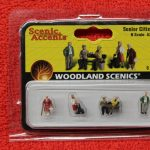 2201 Woodland Scenics N scale Senior Citizens figures
