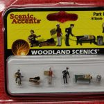 2196 Woodland Scenics N scale Park bums figures