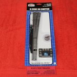 2720 Atlas N Scale Code 80 right hand remote #8 turnout