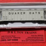 50004025 Atlas N Scale Quaker Oats dry flo hopper car