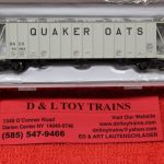 50004026 Atlas N Scale Quaker Oats dry flo hopper car