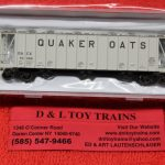 50004027 Atlas N Scale Quaker Oats dry flo hopper car