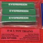50004161 Atlas N Scale Evergreen 40' container set 2