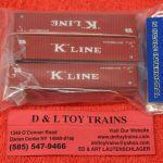 50004163 Atlas N Scale K Line 40' container set 2