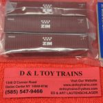 50004168 Atlas N Scale Zim 40' container set 1