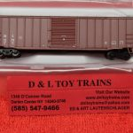 "50004284 Atlas N scale East Erie Commercial ACF 50'6"" box car"