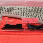 81952 Lionel Fastrack O Gauge 3 rail right hand remote/command switch