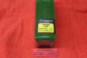 1364 Woodland Scenics Medium green course truf