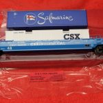 1982530 Lionel O Scale 3 rail CSX maxi stack car