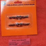 1929804 Lionel O scale peel & stick lights