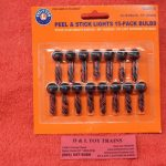 1929815 Lionel O scale peel & stick lights