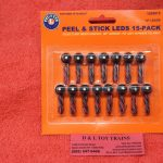 1929915 Lionel O Scale LED peel & stick lights