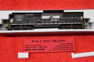 40003988 Atlas N Scale Norfolk Southern SD60E DCC diesel engine