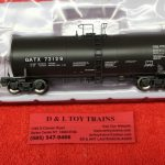 20004993 Atlas HO scale GATX 17,600 gallon trinity tank car