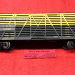 2002404 Atlas O scale 3 rail Chicago Northwestern 40' stock car