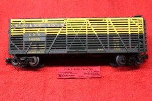2002404 Atlas O scale 3 rail Chicago Northwestern 40' stock car