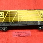 2002455 Atlas O scale 2 rail Missouri Kansas Texas 40' stock car