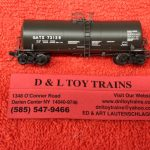 50004095 Atlas N scale GATX 17,600 gallon trinity corn syrup tank car