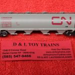 65205 Intermountain N scale Canadian National 4 bay cylindrical hopper car