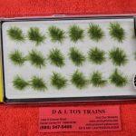 771 Woodland Scenics medium green grass tufts