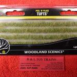 780 Woodland Scenics light green edging strips