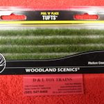 781 Woodland Scenics medium green edging strips