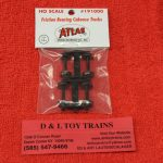 191000 Atlas HO scale friction bearing caboose trucks