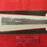 2055 Atlas N scale code 55 #10 right hand turnout
