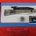 2704 Atlas N scale code 80 left hand #6 turnout