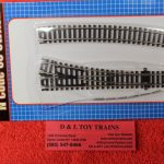 2751 Atlas N scale code 80 right hand customline stanard turnout