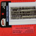 524 Atlas HO scale code 83 straight track assortment pack