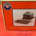 1929100 Lionel O scale 3 rail defect detector with sounds
