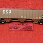 20005460 Atlas HO scale Kansas City Southern Thrall 4750 covered hopper car