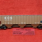 20005461 Atlas HO scale Kansas City Southern Thrall covered hopper car
