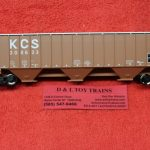 20005462 Atlas HO scale Kansas City Southern Thrall 4750 covered hopper car