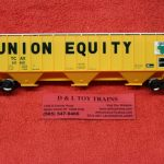 20005469 Atlas HO scale Union Equity Thrall 4750 covered hopper car