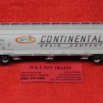 20005510 Atlas HO scale Continental Grain ACF 4650 centerflow hopper car