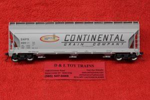 20005510 Atlas HO scale Continental Grain ACF 4650 centerflow hopper car